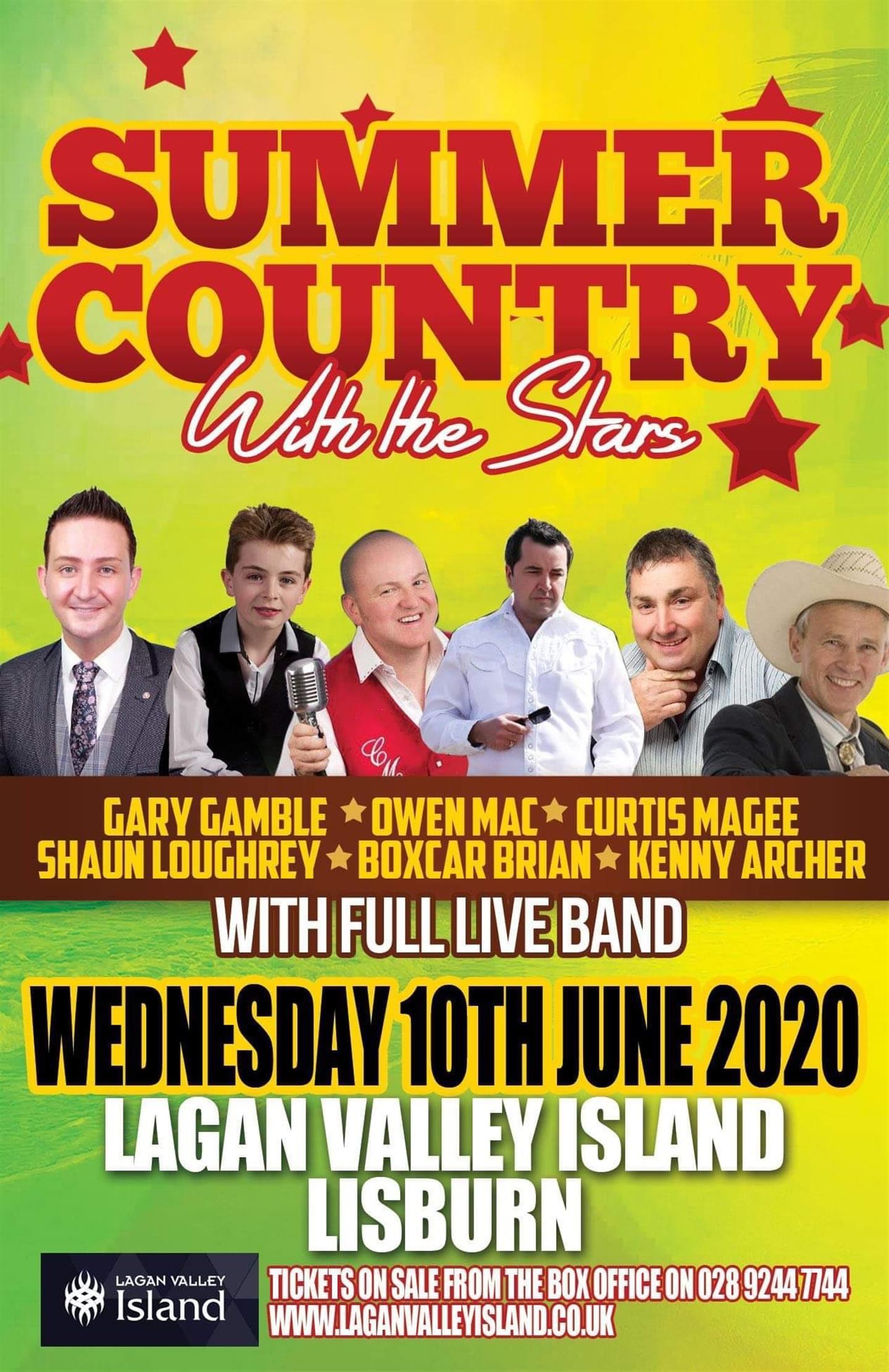 Summer Country With The Stars Show