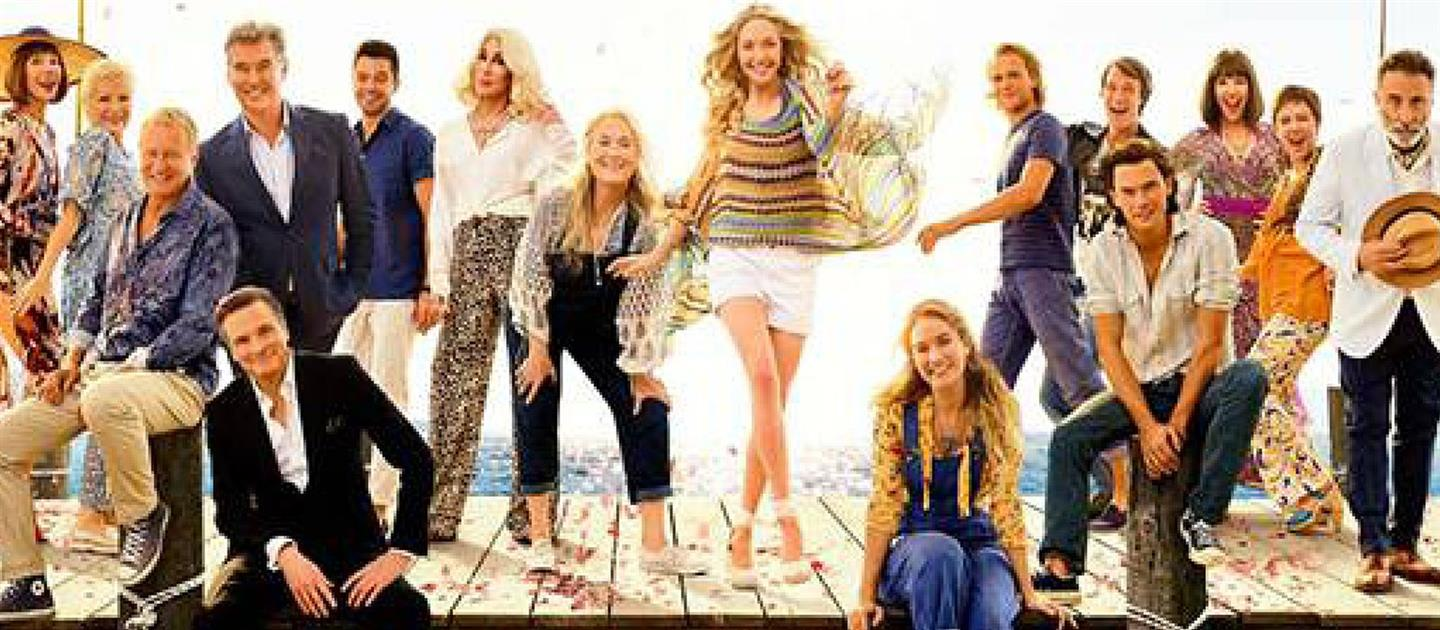 MAMMA MIA - HERE WE GO AGAIN - SILVER SCREEN SOCIALS