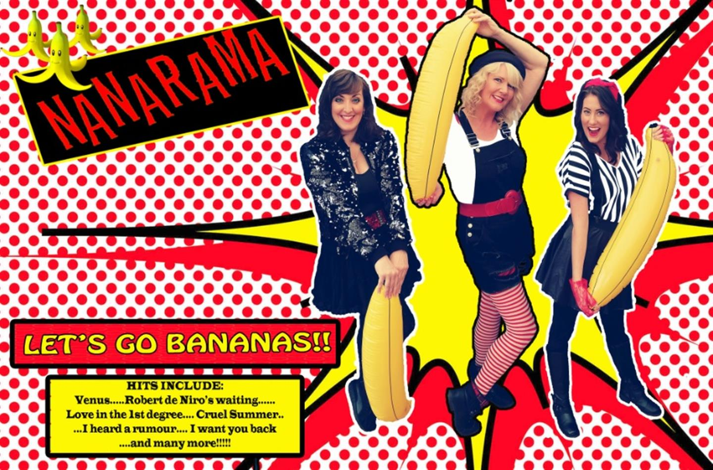 Nanarama & The 80 s - A Tribute to Bananarama