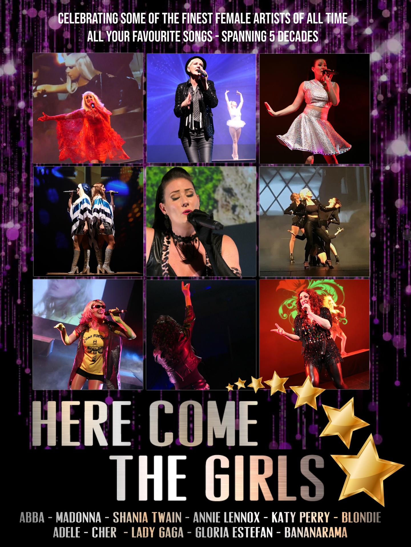 Here Come The Girls - Multi Diva Tribute Show