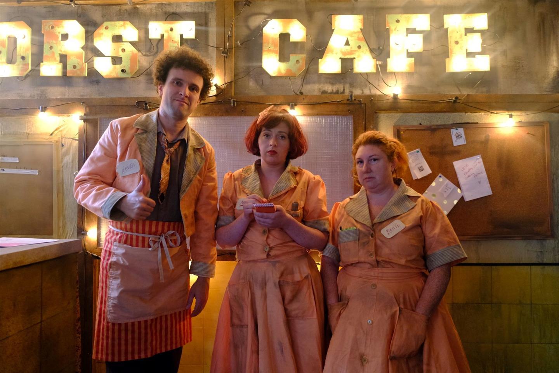 THE WORST CAFÉ IN THE WORLD - FRI 1PM