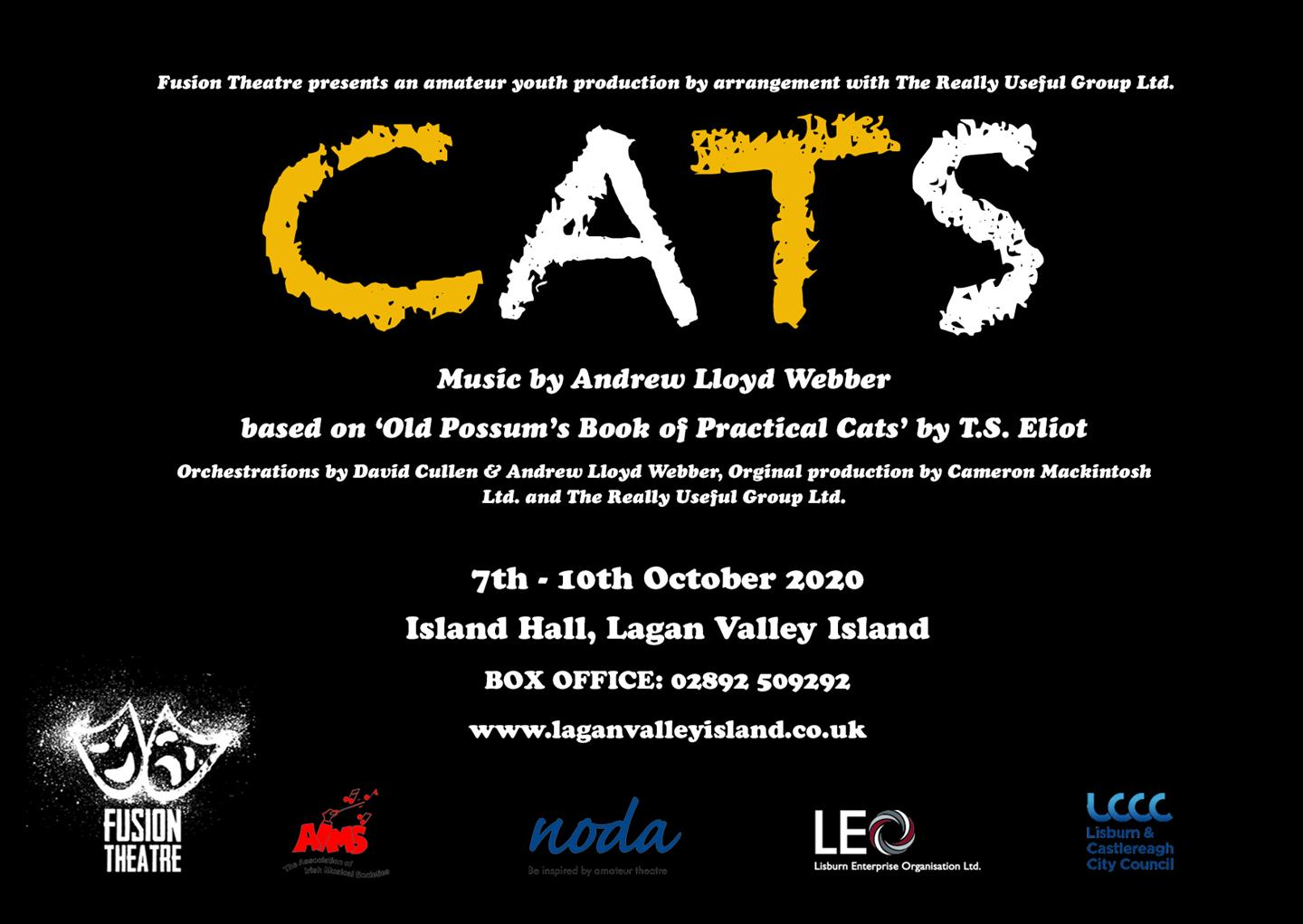 Fusion Theatre Presents Cats