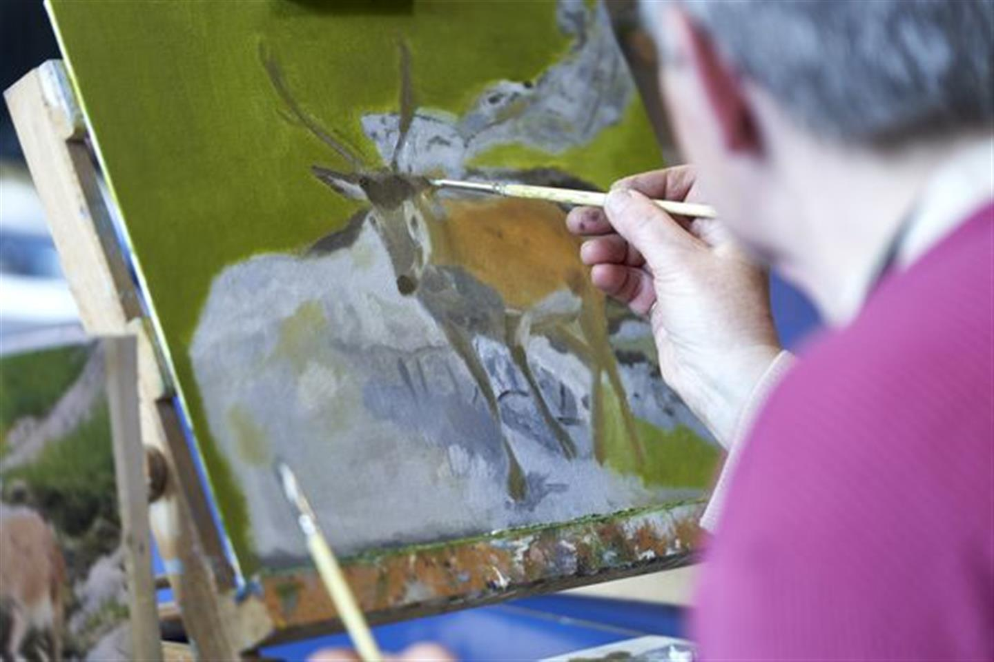 PAINTING FOR PLEASURE (AM)