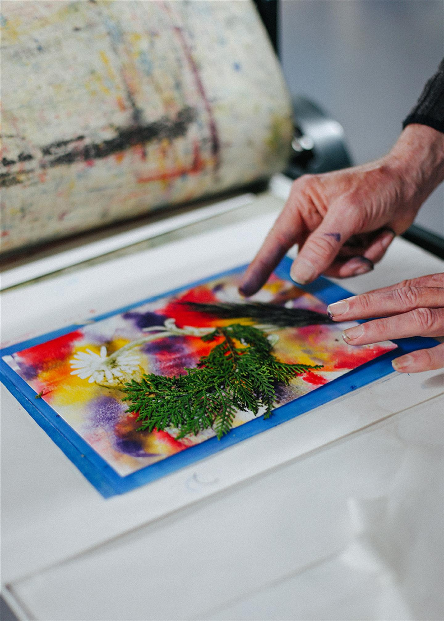 MONOPRINTING FOR WELLBEING
