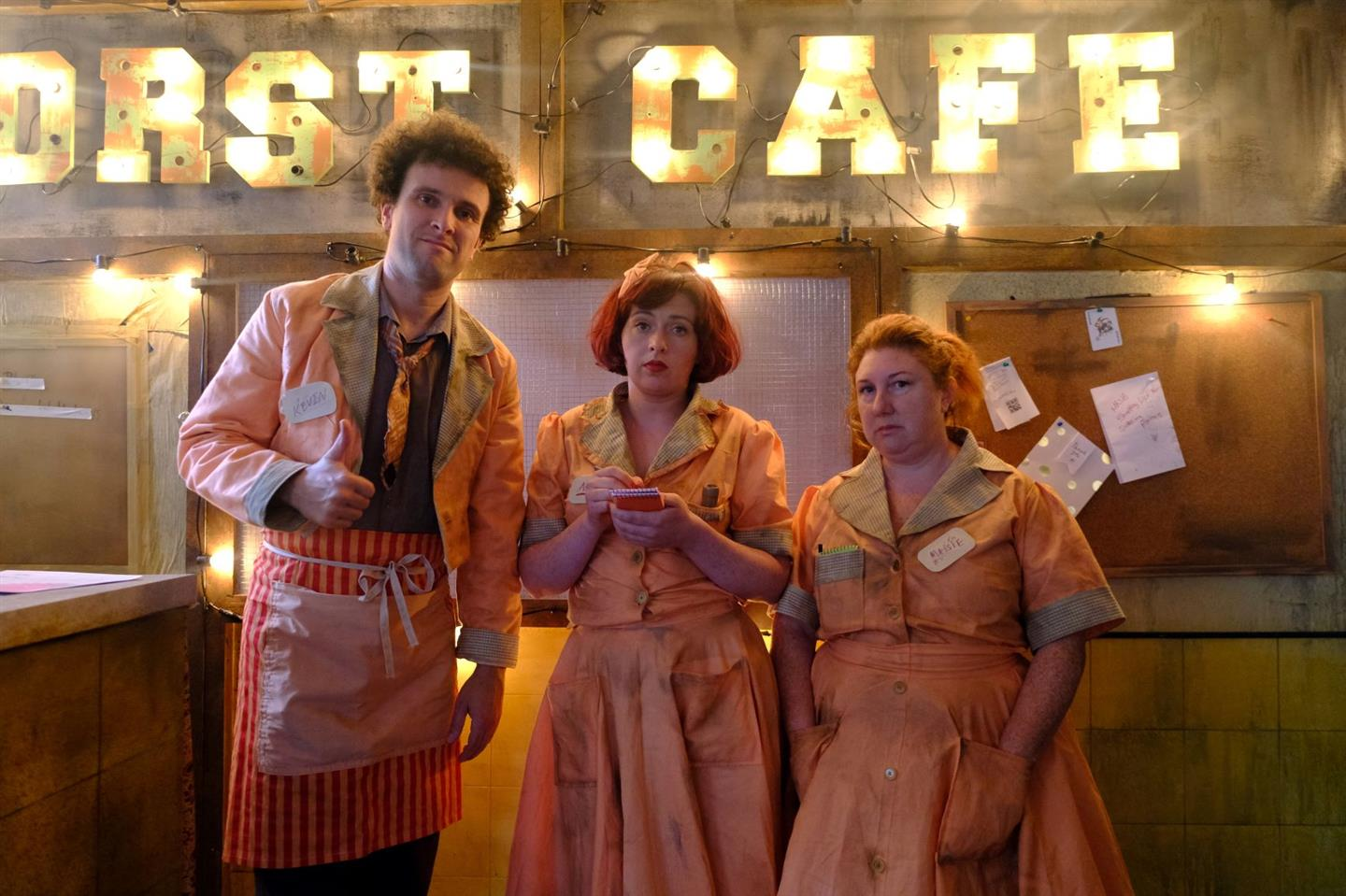 THE WORST CAFÉ IN THE WORLD - SAT 7PM
