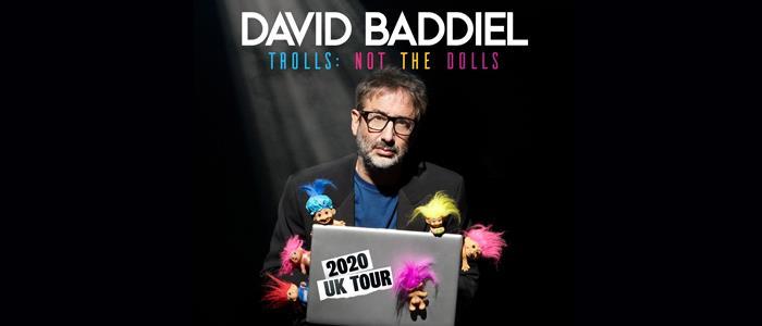 David Baddiel Trolls Not The Dolls