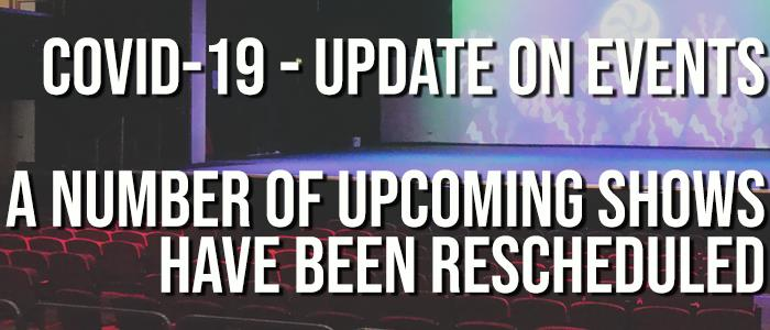 (COVID-19) Update on Events
