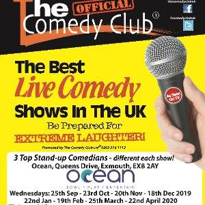 The Comedy Club at Ocean 25/9