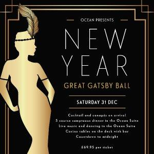 Ocean's Great Gatsby New Years Eve Ball