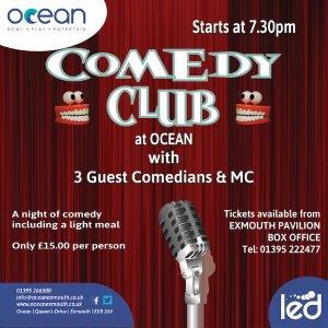 OCEAN Comedy Club - Jan