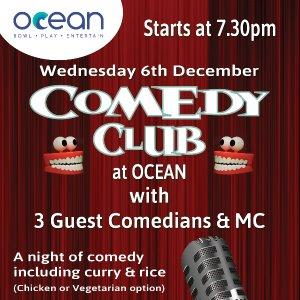 OCEAN Comedy Club - Dec