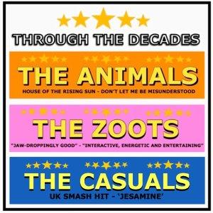 Through The Decades Featuring The Animals
