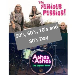 FREE EVENT - 50's, 60's, 70's and 80's Day