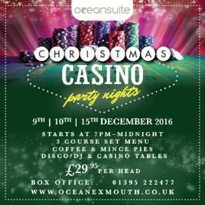 Ocean Christmas Casino Party Night's