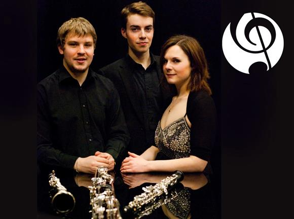 Lunchtime Concert from LICMF: Trio Volant – woodwind trio