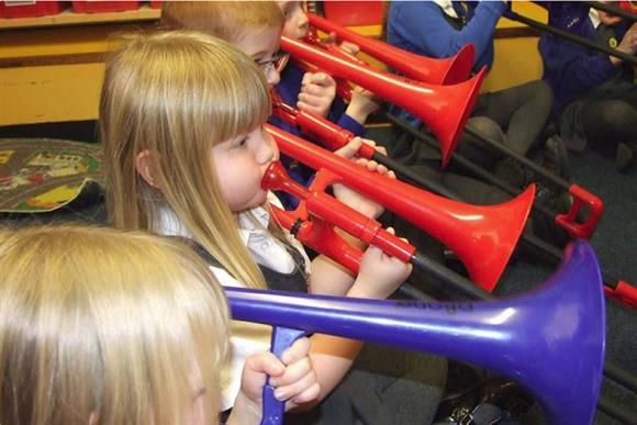 Slidin' About Trombone Quartet - 'Ave-a-Blow Children's Workshop