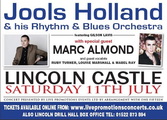Jools Holland and his Rhythm & Blues Orchestra with special guest Marc Almond