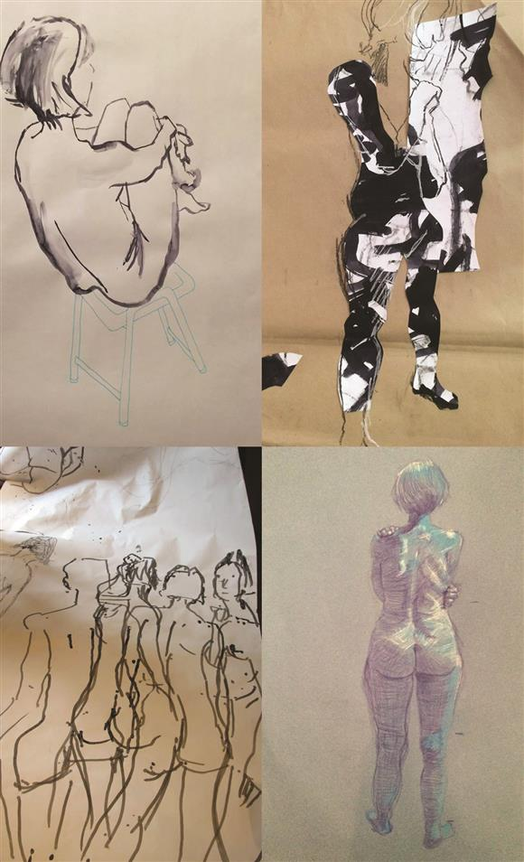 One Day Contemporary Life Drawing Workshop