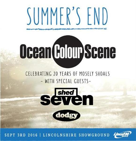 Summers End with Ocean Colour Scene, Shed Seven, Dodgy & More!