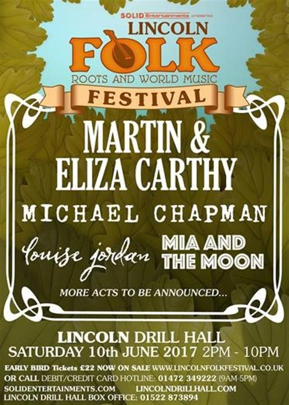 Lincoln Folk, Roots and World Music Festival