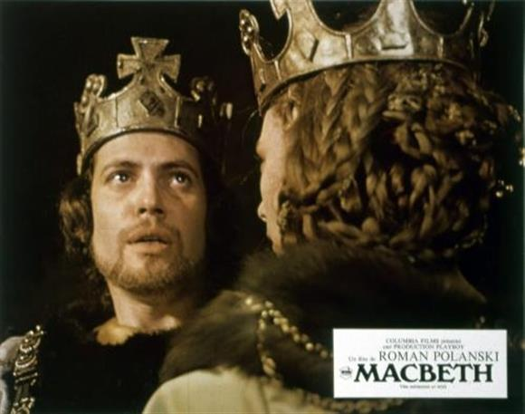 Literature Film: The Tragedy of Macbeth (1971, 15, 134mins)