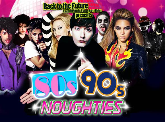 Back to The Future Disco Night: 80s, 90s, Noughties!