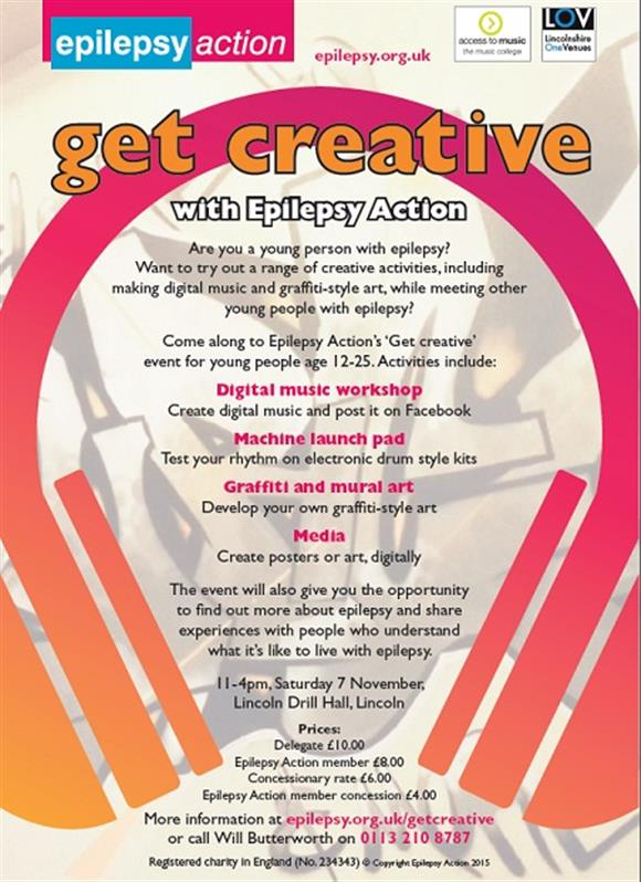 Get Creative - With Epilepsy Action