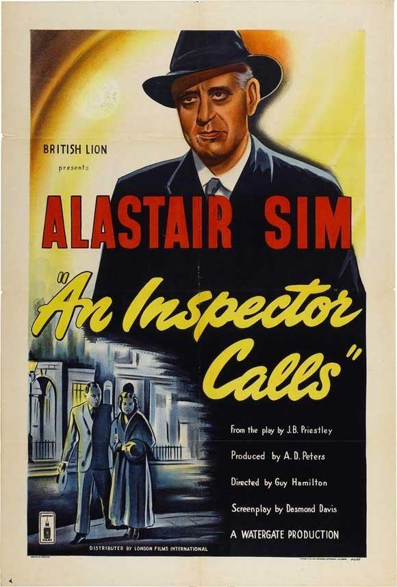 Literature Film: An Inspector Calls (1954, PG, 77 mins)