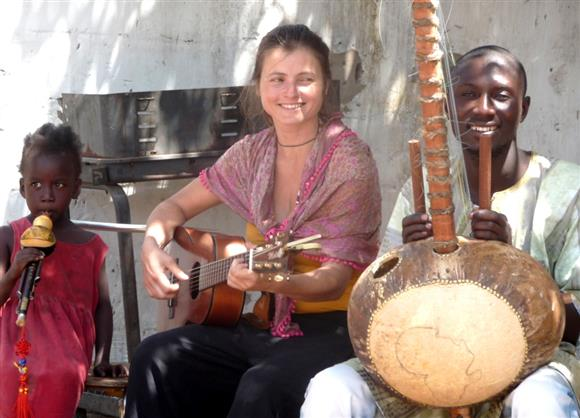 Katus and Yankuba Conteh