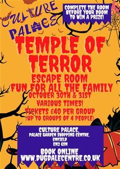 Temple of Terror Escape Room Thumbnail image