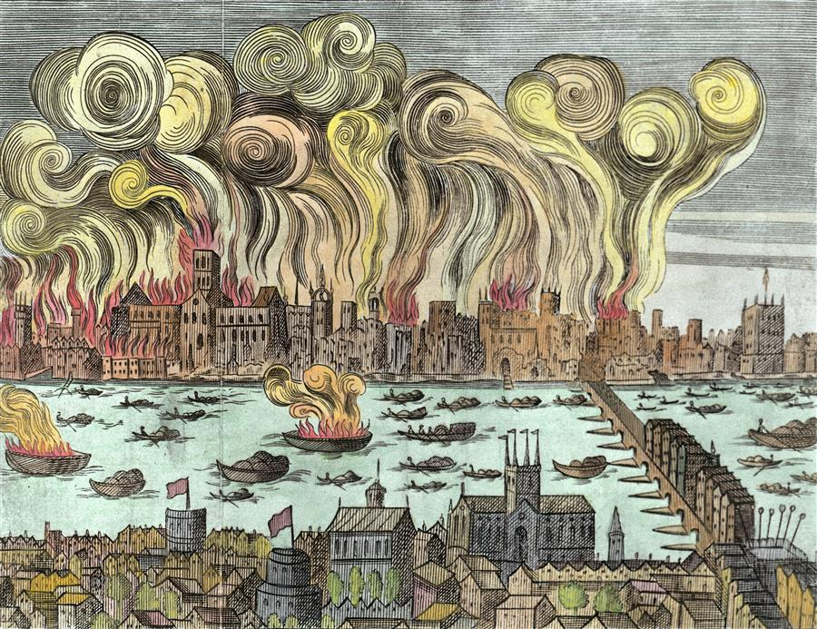 Discover how Londoners fought the Great Fire on a family walking tour.