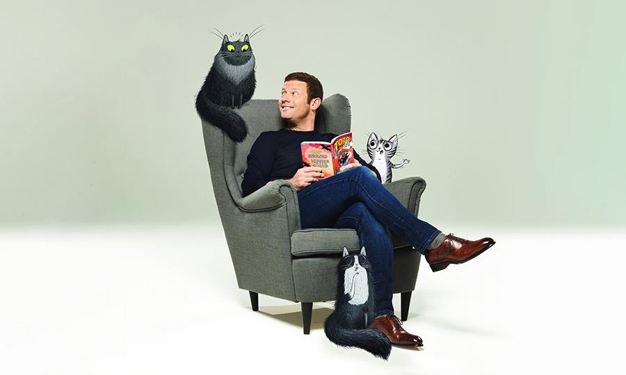 Author and broadcaster Dermot O'Leary