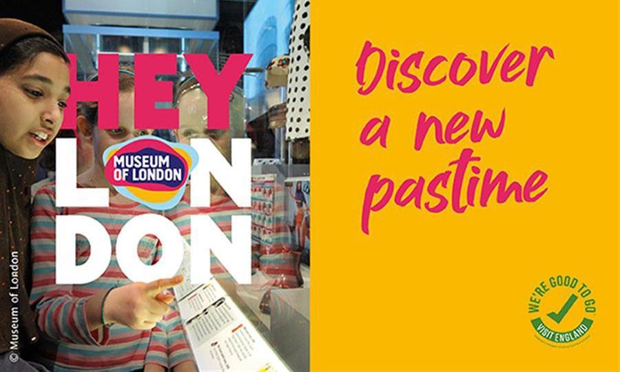 Pre-book your free ticket to visit the Museum of London