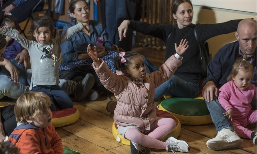 Interactive storytelling for under 5s