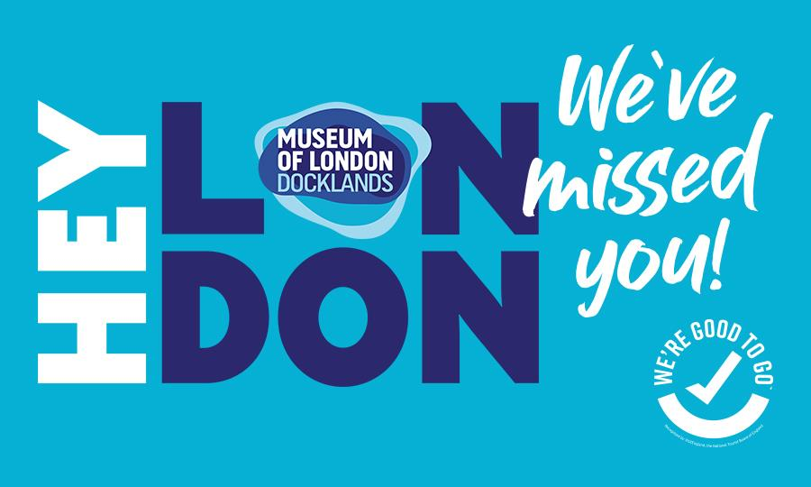 Hey London, we've missed you! We can't wait to welcome you back to the museum.