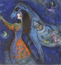 Visually Impaired Programme Online: Marc Chagall: The Horse Rider