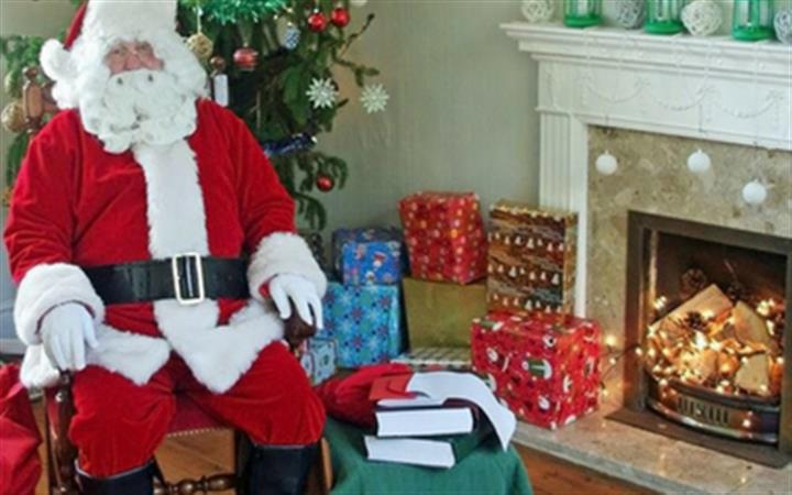 Father Christmas at Nowton Park image