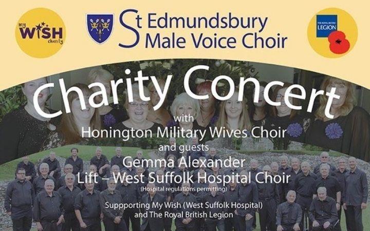 St Edmundsbury Male Voice Choir Charity Concert image