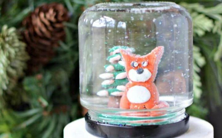 Crafty Kids Snow Globe