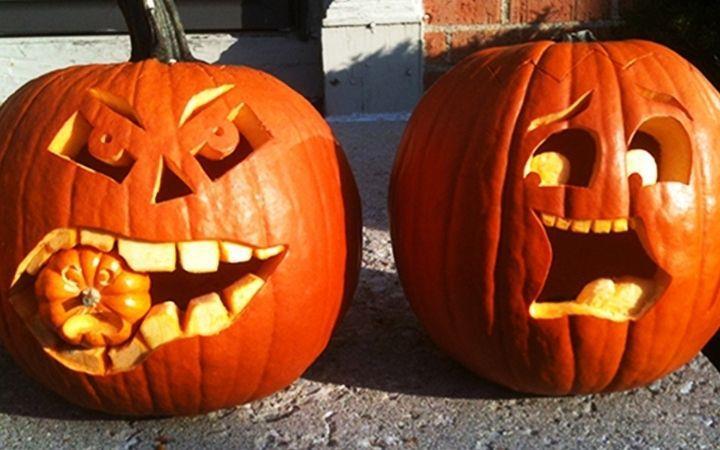 Pumpkin Carving at Nowton Park image