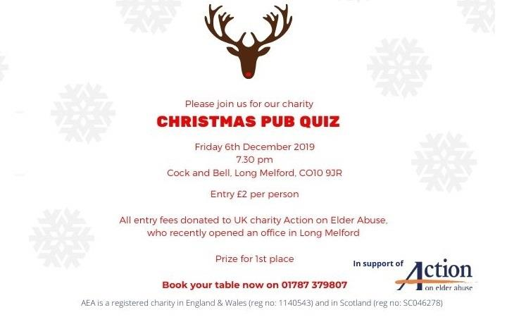 Charity Christmas Quiz