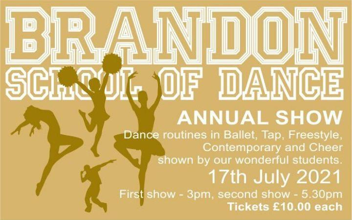 Brandon School of Dance Annual Show image