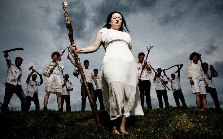 Eliza Carthy and the Wayward Band: Big Machine Tour image