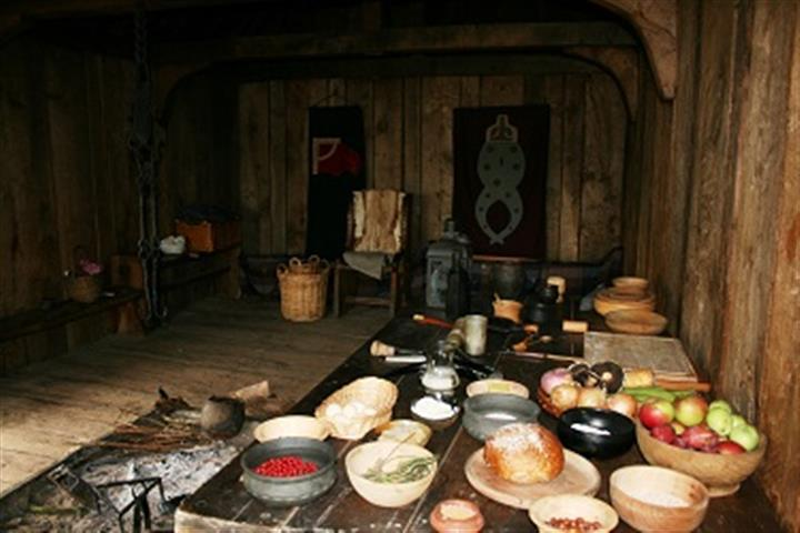 Food in Anglo-Saxon Times image