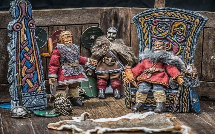 "Rattlebox presents ""Beowulf"" image"