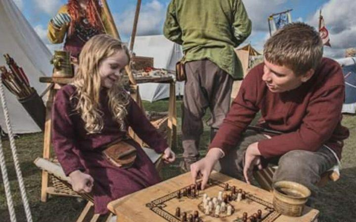 Vikings at West Stow image