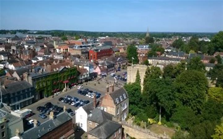 The Ancient Town of Bury St Edmunds