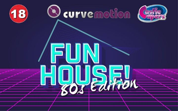 FunHouse! 80s Edition - Over 18 Skate & Play Night image