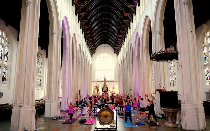 PAUSE: Immersive Yoga Event presented by The Pop Up Gym