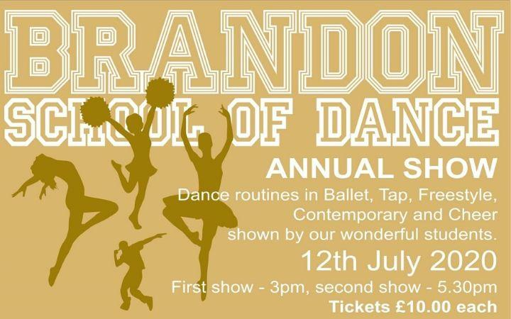 Brandon School of Dance Annual Show image